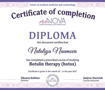 sertificate-botox-en